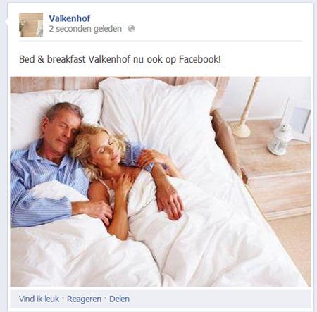 verjaardag op facebook plaatsen