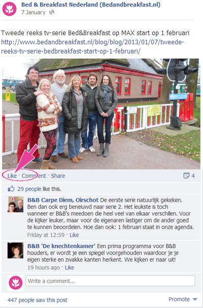 Vind-ik-leuk op Facebook