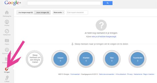 Bed & breakfast Google+ pagina