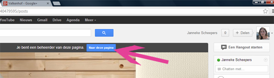 Bed & Breakfast op Google PLUS
