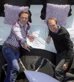 René Sluis en Frank Schultemaker van De-Slaapfabriek