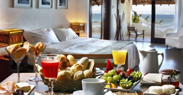 B&B ontbijt op bed