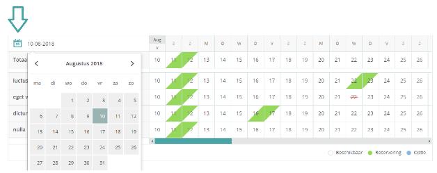 Kalender bijhouden