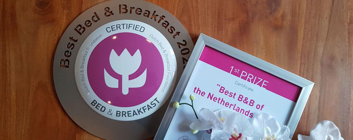 Bedandbreakfast.nl; Hoe maak je kans op de titel 'B&B van het Jaar?'