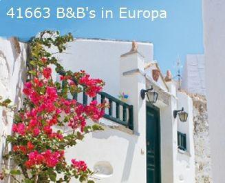 Bed & breakfast Europe
