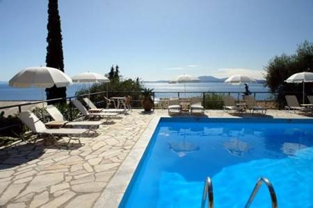 Bed & breakfast op het Griekse eiland Corfu