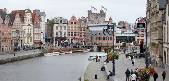 Gras- en Korenlei in Gent