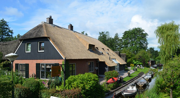Bed and Breakfast in Giethoorn