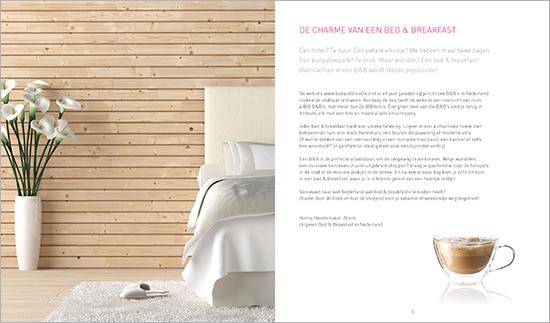 het boek 'Bed & Breakfast in Nederland'