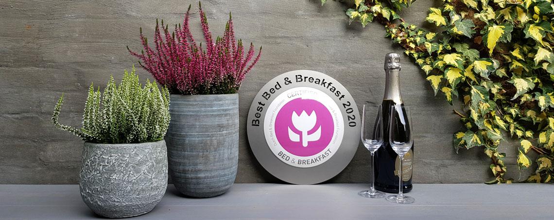 Bedandbreakfast.nl; Beste B&B van Nederland 2020: SonneVallei op de Veluwe